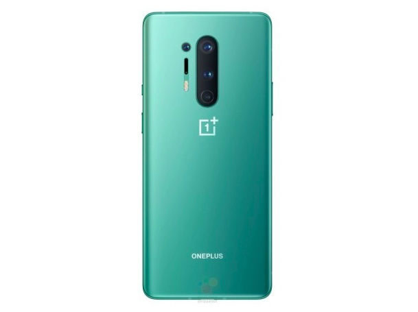 OnePlus 8 Pro в Glacial Green